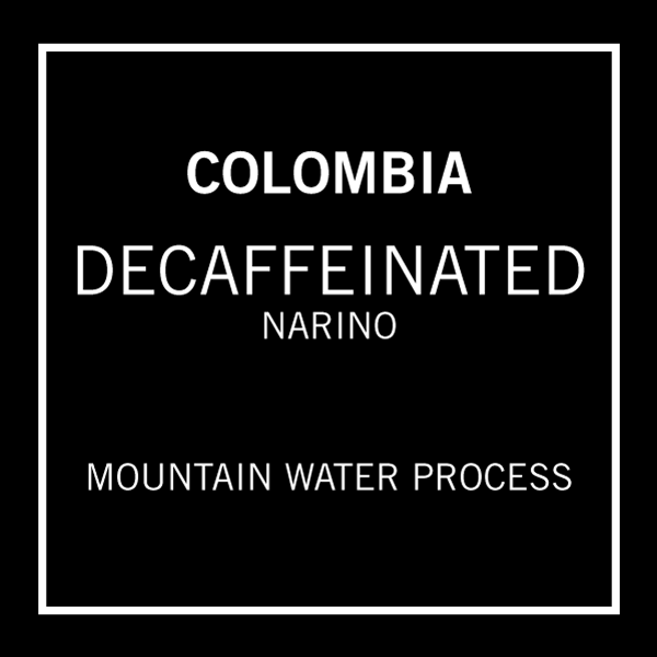 Decaffeinated Colombia Narino