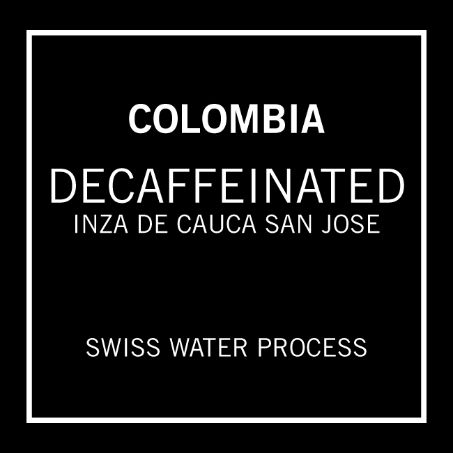 Decaffeinated Colombia San Jose