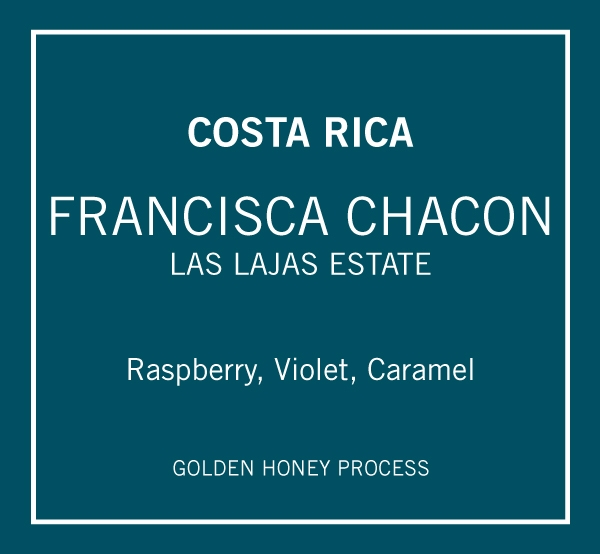 Costa Rica Francisca Chacon Golden Honey
