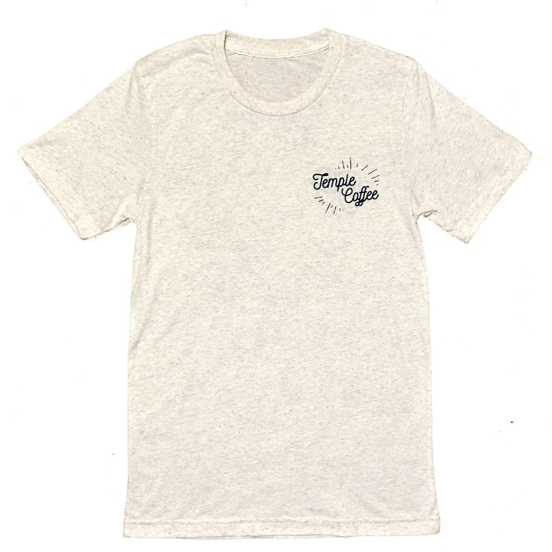 Temple Bear T-Shirt - Oatmeal