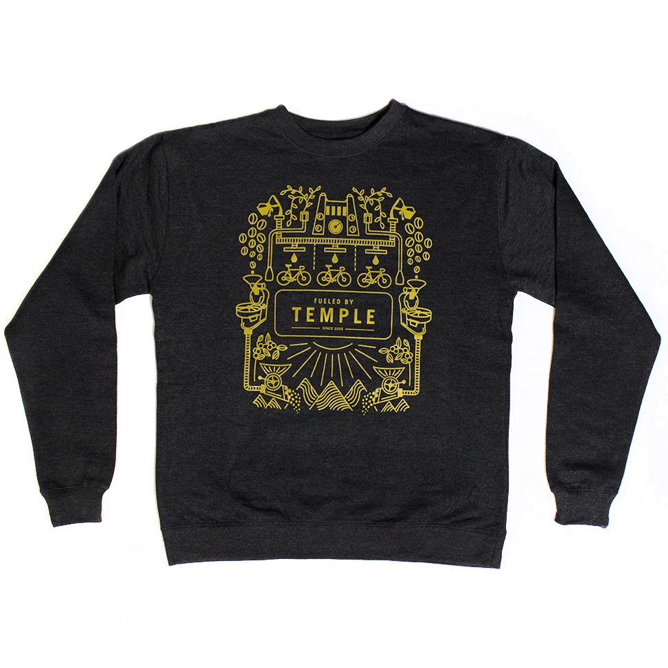 Fueled by Temple Crewneck Sweatshirt