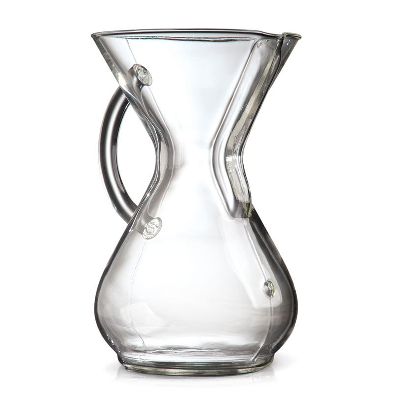 Chemex Glass Handle Series Six Cup Coffee Maker