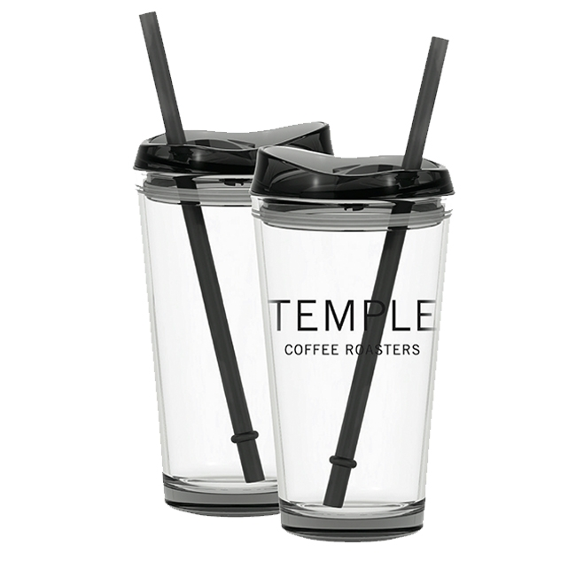 Temple Pint Glass