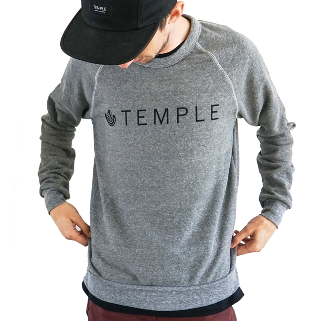 Temple Crew Sweatshirt